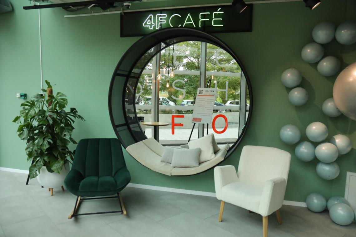 Marka 4F z nowym konceptem. Otwiera nietuzinkową kawiarnię