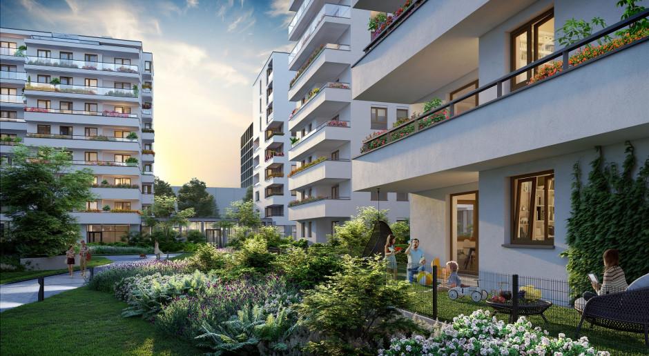 Zielone osiedle w Warszawie przyczynia się do metamorfozy całej dzielnicy