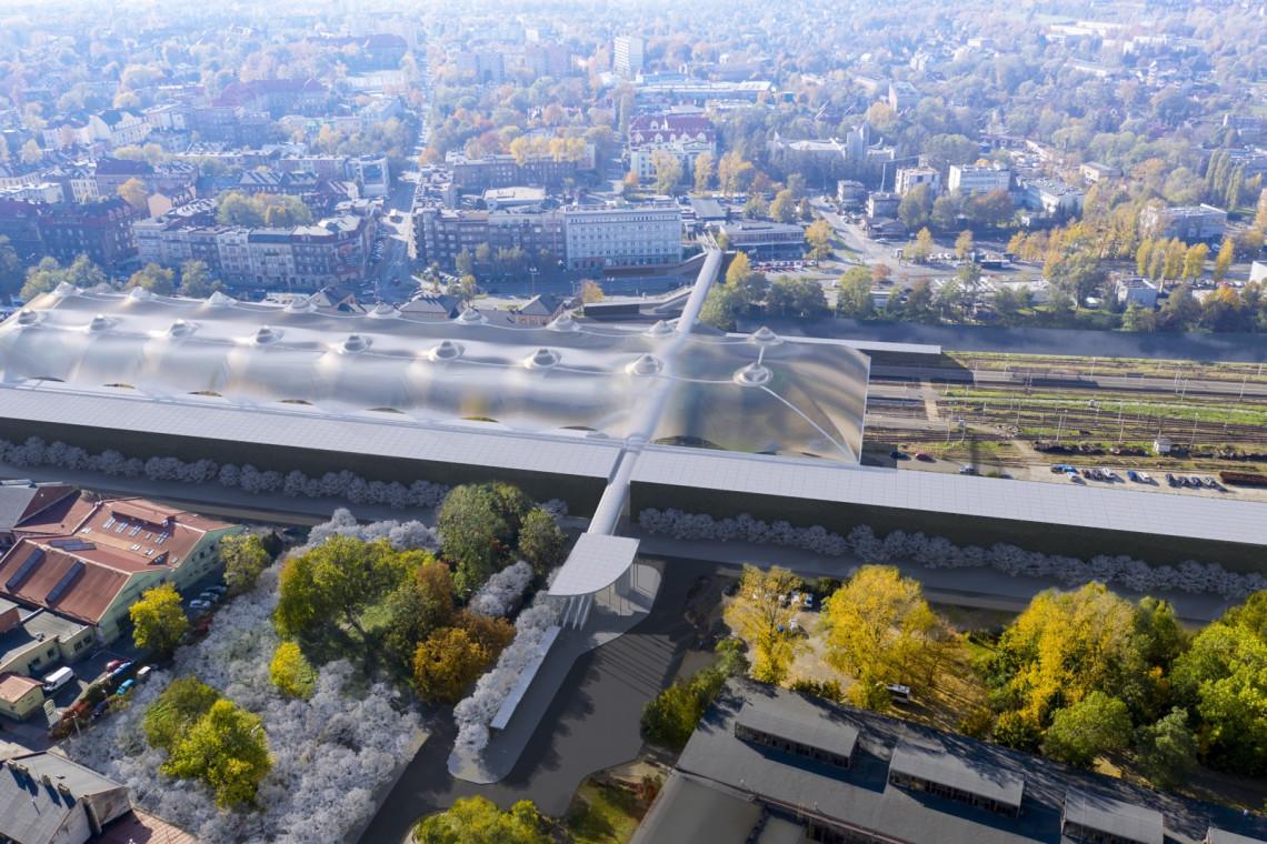 Wielkie wyzwanie i inwestycja, która zmieni miasto. Konkurs na projekt węzła przesiadkowego w Bielsku-Białej
