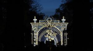 Sukces malowany światłem. Królewski ogród w niezwykłej oprawie