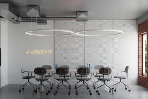 Tak wyglądają przestrzenie coworkingowe w Concordia Design we Wrocławiu