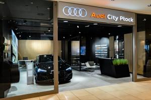 W płockiej galerii handlowej powstał salon samochodowy naszpikowany nowoczesnymi technologiami