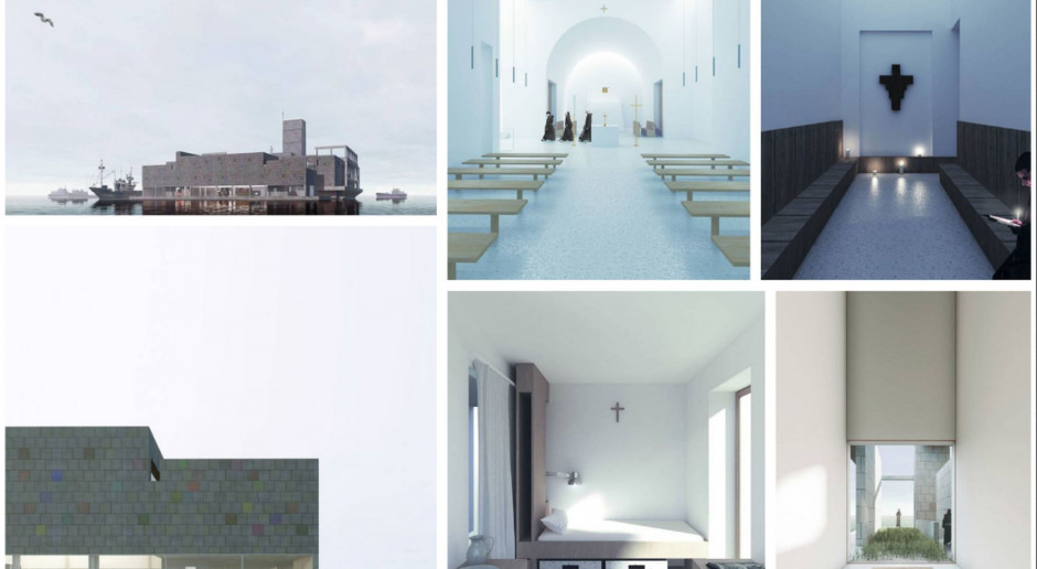 Klasztor w miejscu torpedowni? To najlepszy dyplom architektoniczny w Polsce