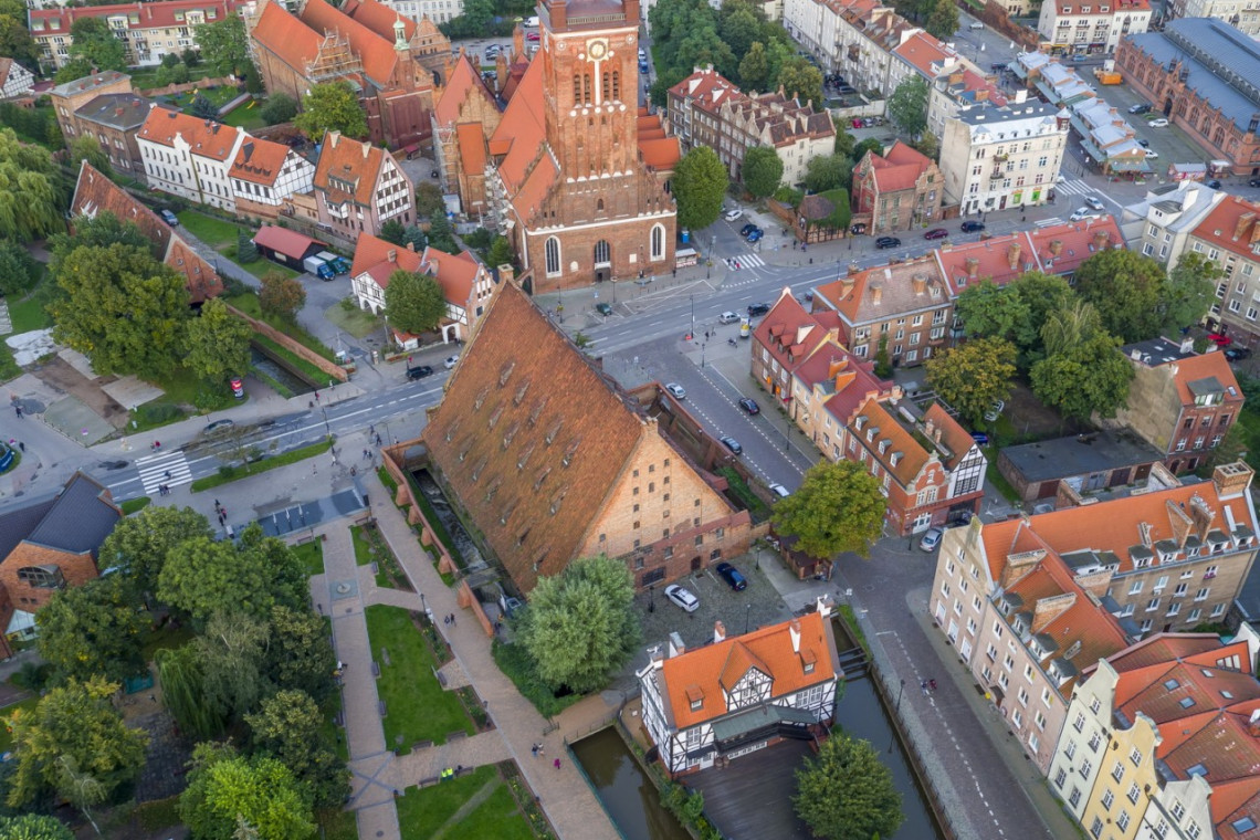 (Nie)zwykłe odkrycie  w Wielkim Młynie w Gdańsku