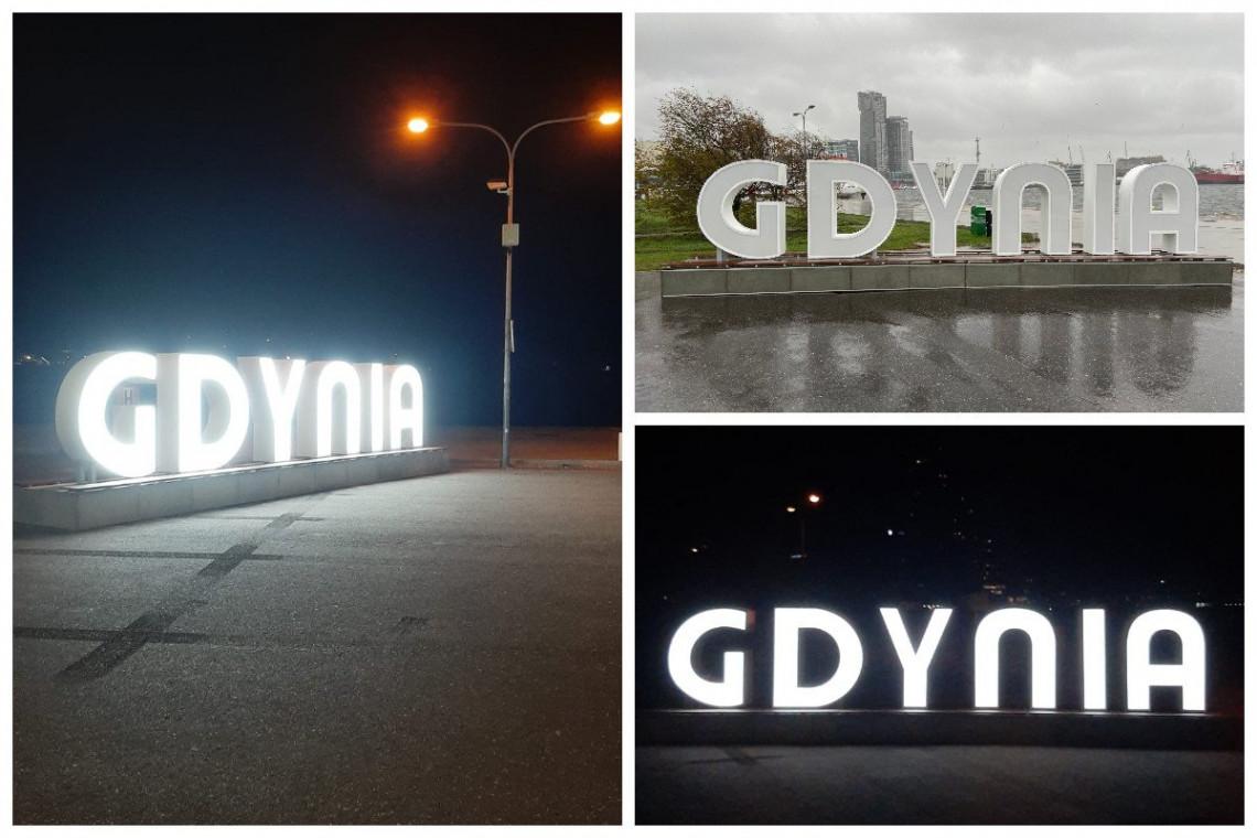 Świetlna atrakcja w Gdyni