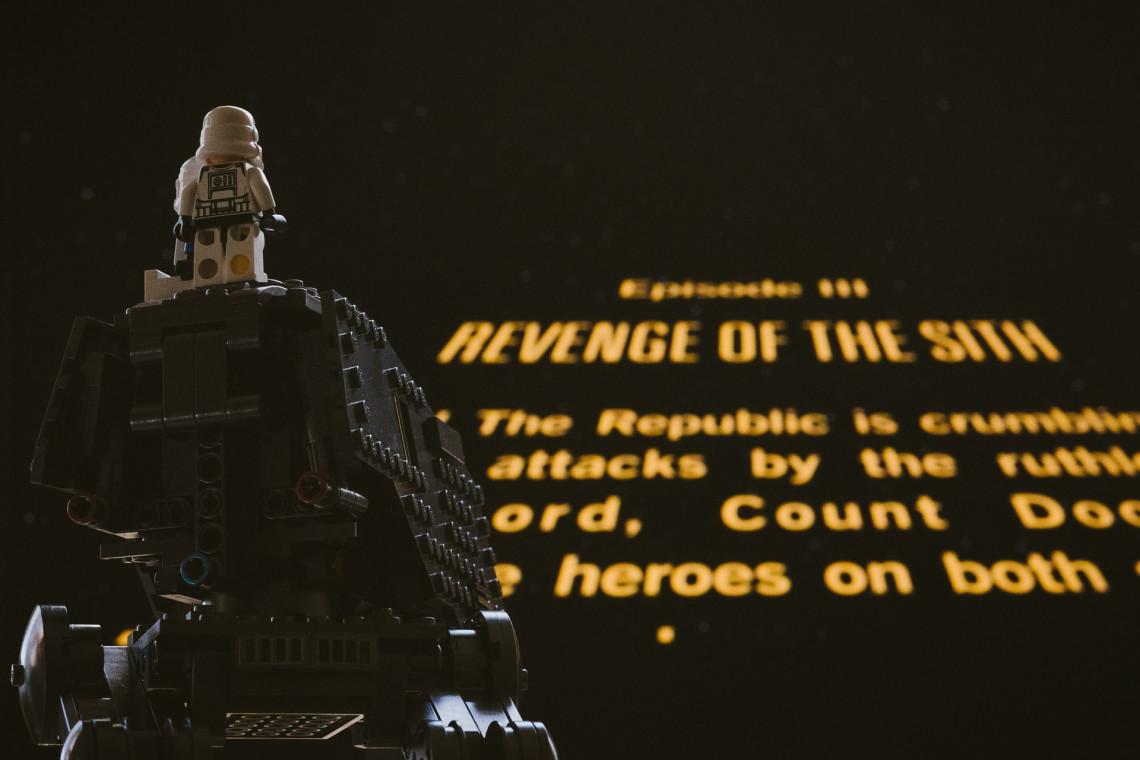 Gratka dla fanów klocków Lego i Gwiezdnych Wojen. Galeria handlowa zaprasza na niecodzienną wystawę