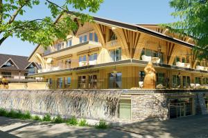W Zakopanem rośnie nowy luksusowy hotel. Mamy najnowsze wizualizacje