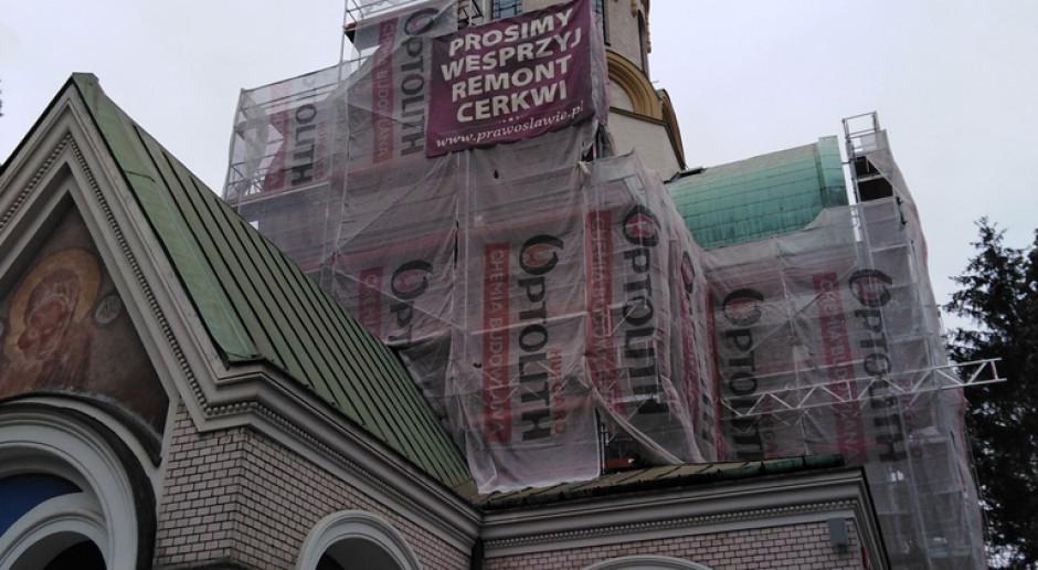 Warszawska cerkiew odzyskuje blask. Świątynia remontowana jest od kilku lat