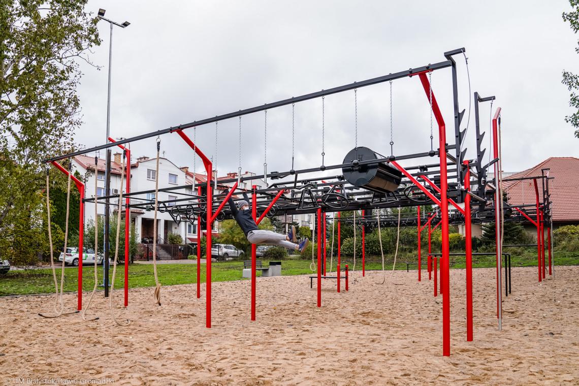 W Białymstoku powstał jeden z największych w kraju outdoorowych parków OCR
