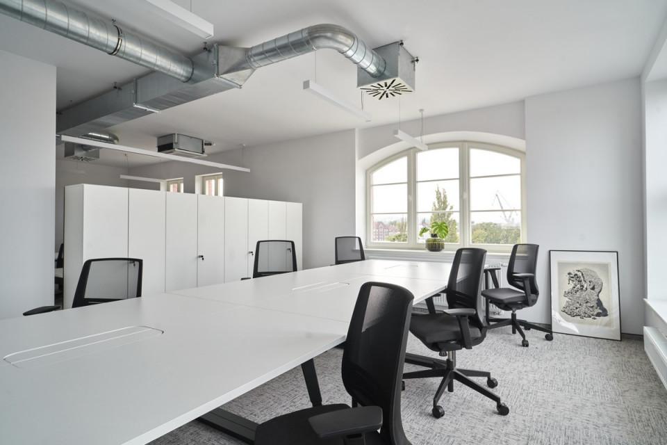 W dawnym budynku Dyrekcji Stoczni Gdańskiej powstał coworking