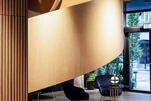 Wnętrzarska perełka, czyli Nobu Hotel Warsaw Roberta De Niro. Nawet aranżacja łazienek robi wrażenie