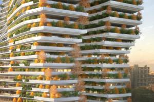 Takie będą budynki w zeroemisyjnych miastach? Śmiała wizja architektów