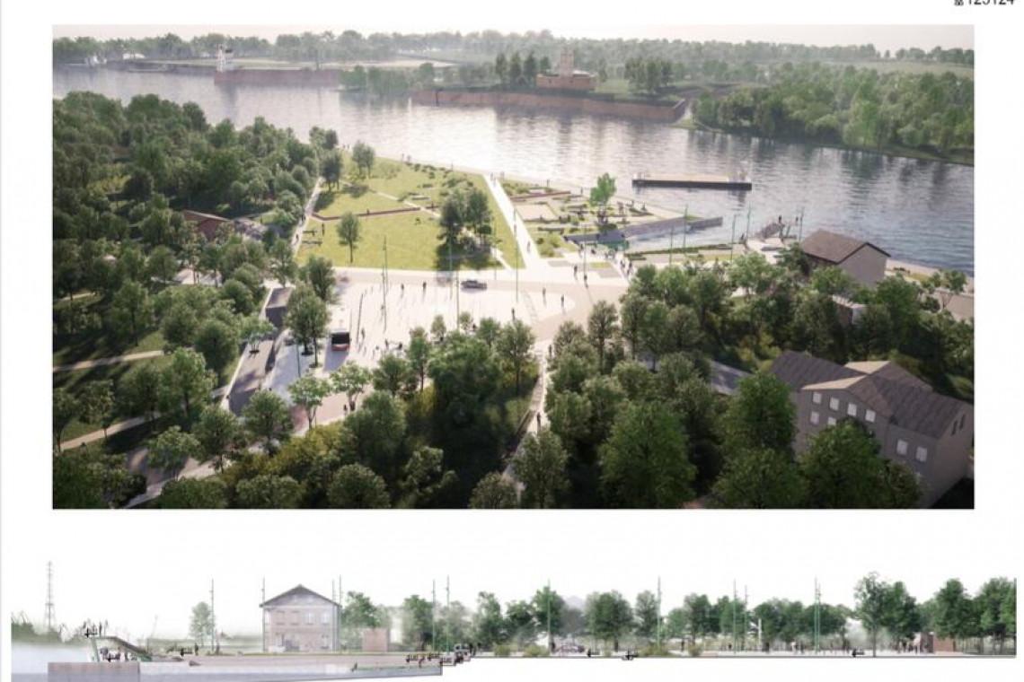 Ogłoszono przetarg na projekt placu nadwodnego w Gdańsku
