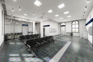Zabytkowy dworzec w Trzemesznie do przebudowy