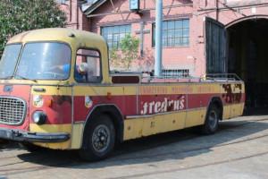 Kolejny etap renowacji Fredrusia. Kultowy autobus-kabriolet w przyszłości wróci na ulice Wrocławia
