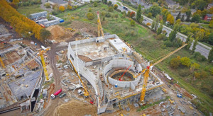 Powstaje najbardziej nowoczesny aquapark w Polsce. Co słychać na budowie Fabryki Wody w Szczecinie