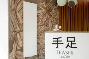 Ten projekt doceniono w międzynarodowym konkursie. Zaglądamy do wnętrz Teashi nail lab od Blackhaus
