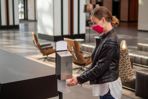 Warszawskie biurowce w zaostrzonym reżimie sanitarnym
