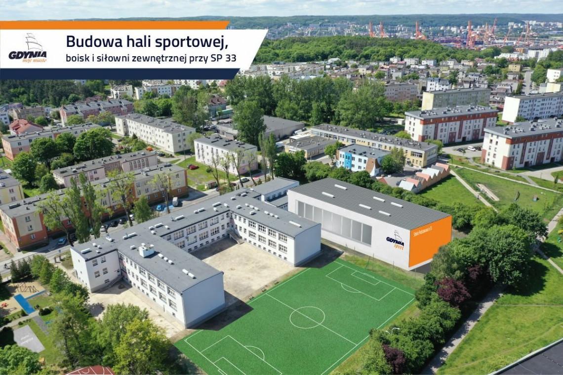 Szkoła w Gdyni zyska nową halę sportową