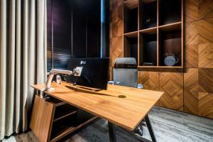 Burawscy Architekci zaprojektowali siedzibę firmy meblarskiej. W czterech różnych stylach