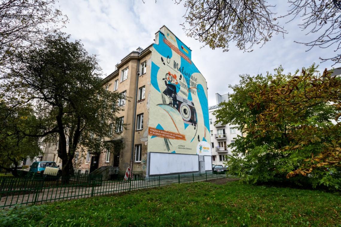 Na warszawskim Powiślu odsłonięto antysmogowy mural