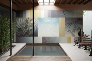 Nowa kolekcja włoskiej marki. Te wodoodporne tapety sprawdzą się w aranżacji łazienki