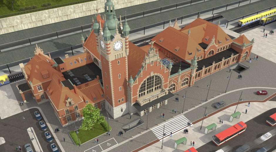 To już 120 lat dworca Gdańsk Główny. Trwają intensywne prace, aby obiekt odzyskał dawny blask