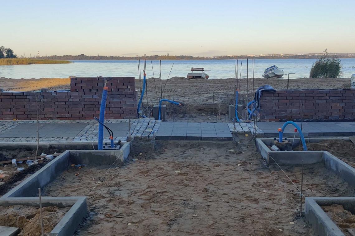 W Szczecinie trwa przebudowa kąpieliska
