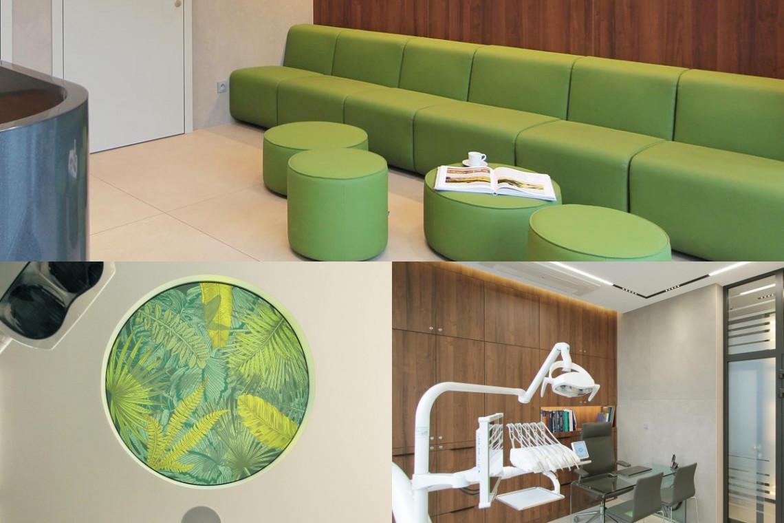 Kolor i modernizm... w gabinecie stomatologicznym