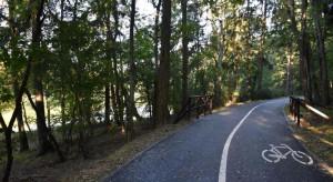 Wokół szczecińskiej Arkonki powstał tor dla biegaczy, rowerzystów i rolkarzy