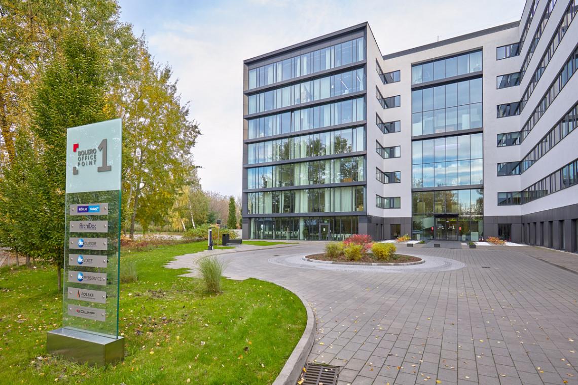 Zmiany wokół Bolero Office Park