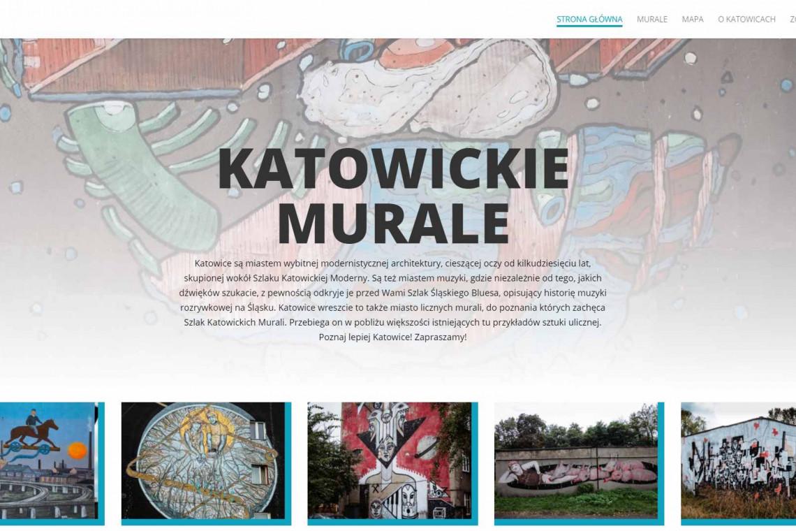 Katowickie murale mają swój własny serwis internetowy