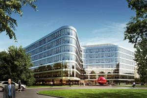 Ruszyła budowa nowoczesnego biurowca spod kreski MWH Architekci