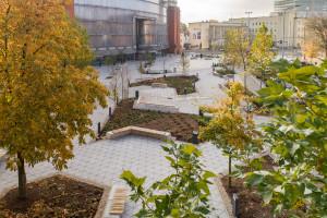 Mieszkańcy Poznania mają nowy plac miejski. Powstał przy Starym Browarze