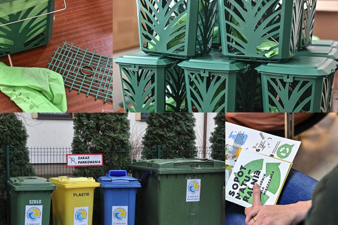 Sopot liderem w segregacji śmieci