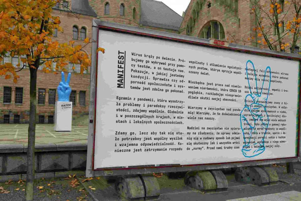 Przed poznańskim CK Zamek stanęła symboliczna rzeźba