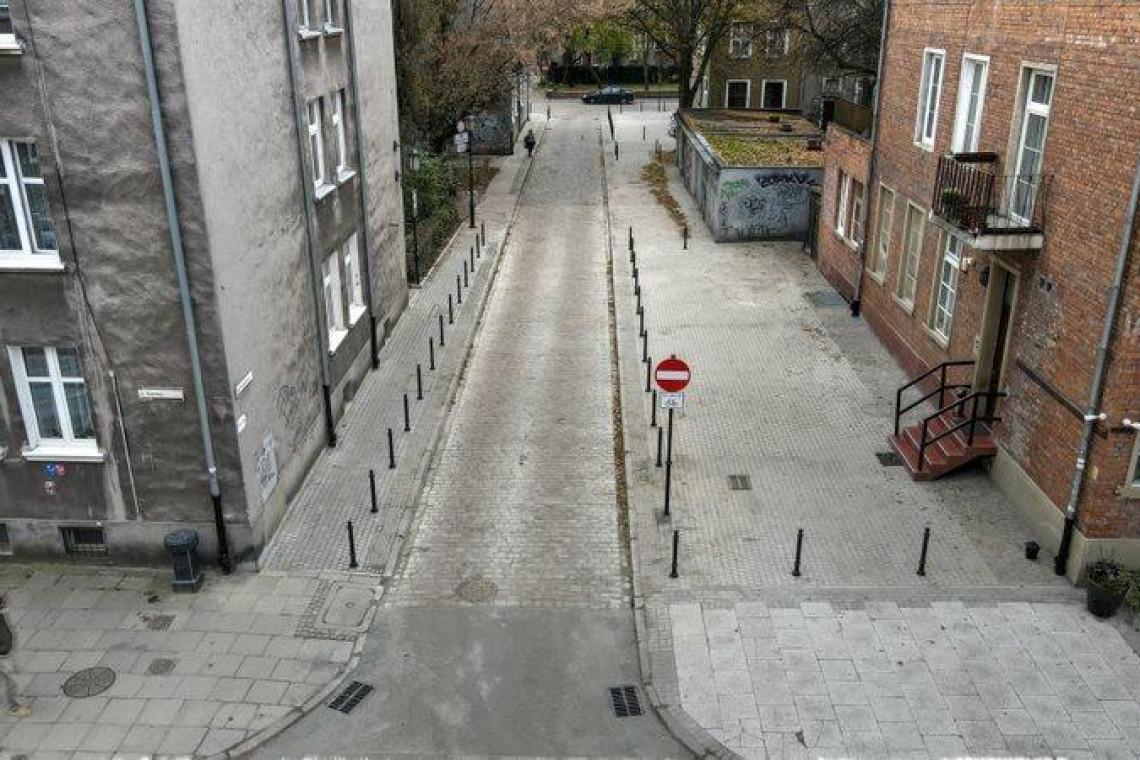Niewielka uliczka w Gdańsku odzyskała dawny klimat