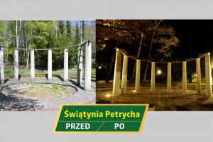 Nowa odsłona Świątyni Petrycha w Parku Śląskim