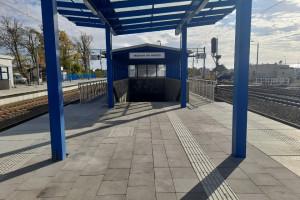 Rawicz z nowymi peronami i przejściem pod torami