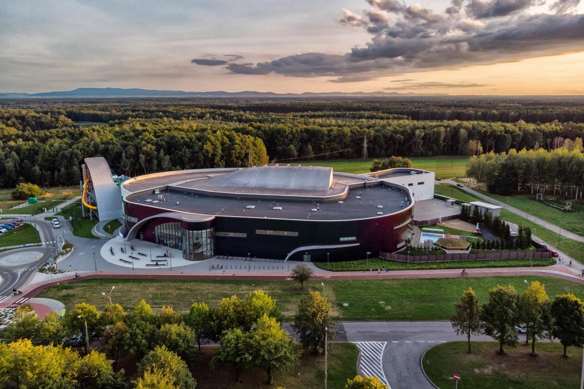 Wodny Park Tychy z międzynarodową nagrodą architektoniczną