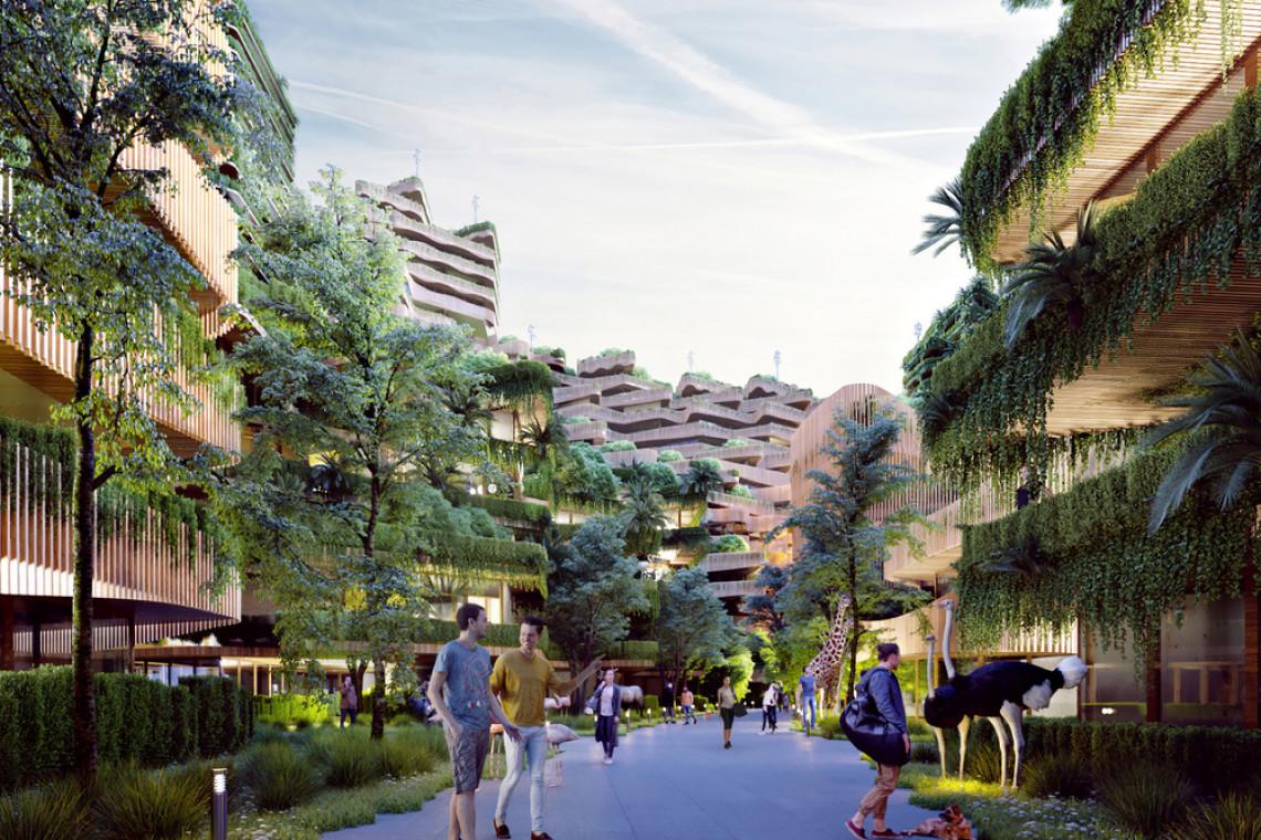 Tak będzie wyglądać miasto przyszłości? W Holandii powstaje niezwykły projekt stworzony w zgodzie z zasadami biofilii