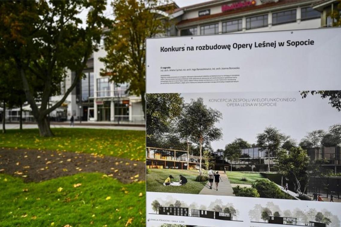 Jak może zmienić się otoczenie Opery Leśnej w Sopocie? Projekty i prace koncepcyjne