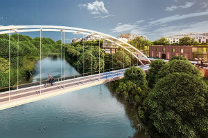 Dwa mosty, kładki dla pieszych, ścieżki rowerowe i drogi - zielona inwestycja w Poznaniu