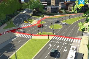 Przebudowa al. Niepodległości w Sopocie - nowa infrastruktura i więcej zieleni