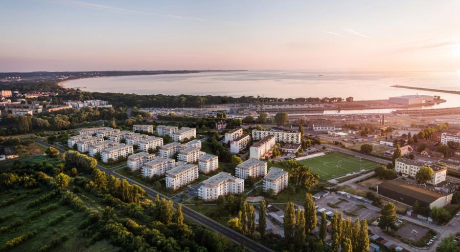 Mnóstwo zieleni i ogrody deszczowe w nowej inwestycji w Gdańsku