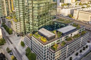 Warszawskie centrum bardziej zielone za sprawą Varso Place