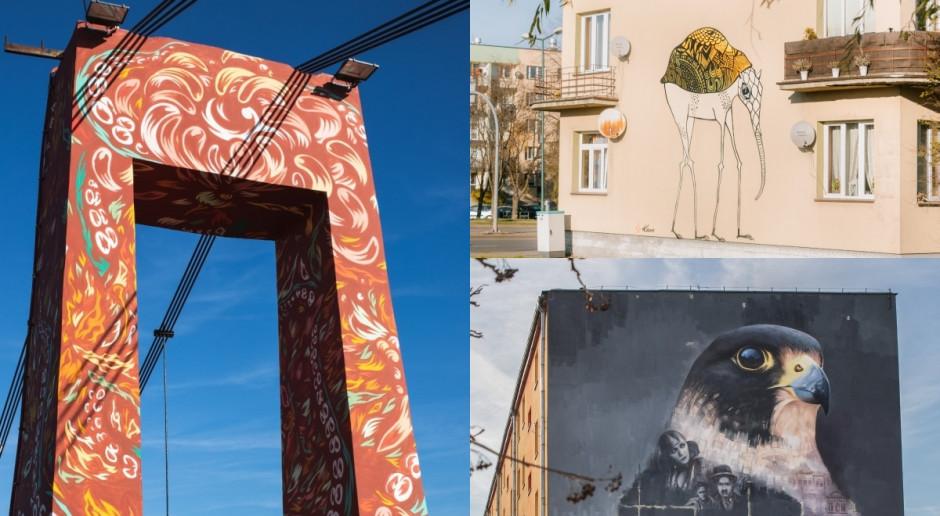 Artyści ożywili przestrzeń miejską w Nowym Sączu