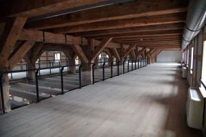 Rewitalizacji gmachu Młyna Rothera. Trwają ostanie prace budowlane