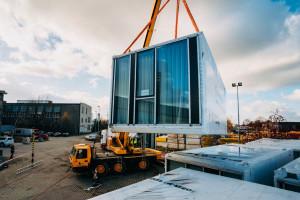 Najwyższy na świecie hotel modułowy powstaje na polskich komponentach!