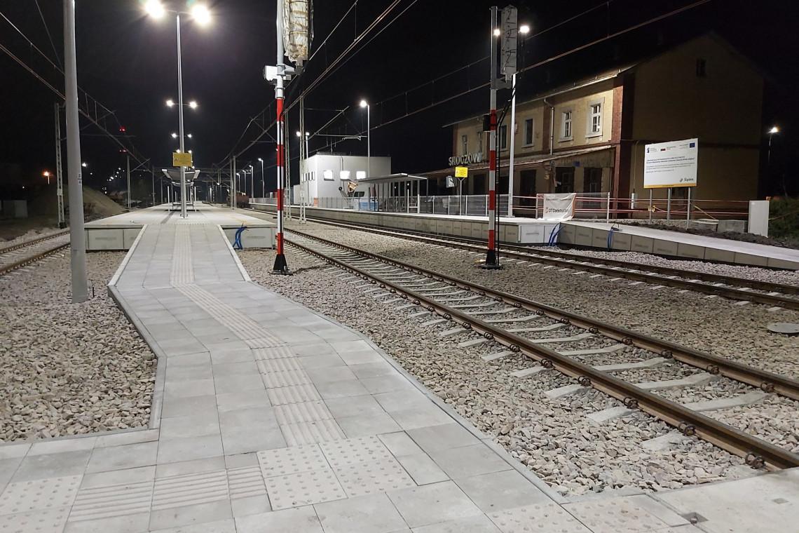 Nowe perony i przystanki na trasie do Wisły